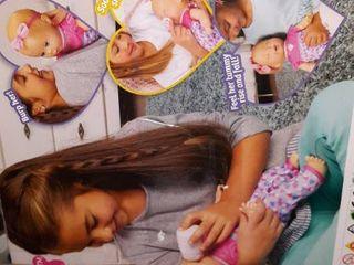Spin Master luvabella Newborn   Blonde Hair Doll