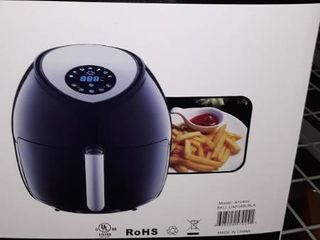 Ultrean 6 Quart Air Fryer  large Family Size Electric Hot Air Fryers Xl Oven Oil