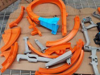 Hotwheels action RACING set