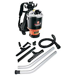 Hoover Commercial C2401 Shoulder Vac Pro Backpack Vacuum with 1 1 2 Inch Attachment Kit