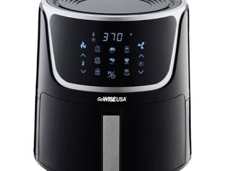 GoWISE Usa Air Fryer with Dehydrator and 3 Stackable Racks  7 Quart