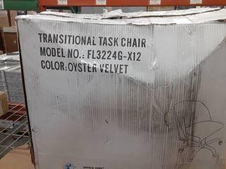 AveSix   layton Home Office Velvet Task Chair   Gold Oyster