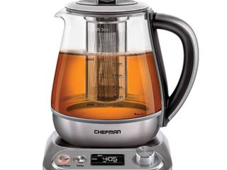Chefman 1 5l Programmable Electric Glass Kettle