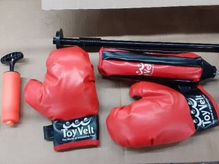 Children s boxing set with Base and gloves
