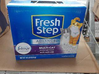 Fresh Step Advanced kitty litter
