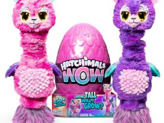 Hatchimals WOW 32  Interactive Hatchimal Blind Pack with Re Hatchable Egg   llalacorn