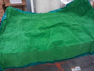 Green Queen Size Inflatable Bed