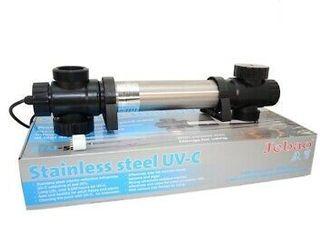 Jebao 36w STU Stainless Steel UVC Clarifier 36 watt for Fish pond Water Fountain