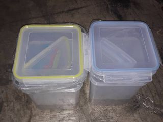 Extra large Plastic Food Storage Containers with lids 175oz  For Flour   Sugar   Air tight Kitchen   Pantry Organization Bulk Food Storage  BPA Free   4 PC   Canisters with Pen   labels   Chefas Path