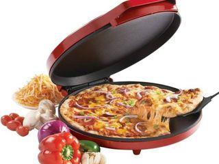 Betty Crocker Pizza Maker  Red