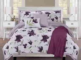 EllEN TRACY Monterrey Bedding Set  Queen  Orchid