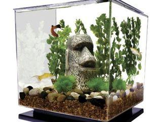 Tetra lED Cube Kit 3 Gallon aquarium  Cube Shaped aquarium With Pedestal Base
