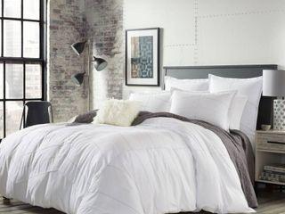 White Courtney Comforter Set  King    City Scene