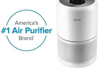 lEVOIT Air Purifier for Home Allergies and Pets Hair Smokers in Bedroom  H13 True HEPA Filter  24db Filtration System Cleaner Odor Eliminators  Remove 99 97  Dust Smoke Mold Pollen  Core 300  White