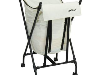 lifter Hamper with lid   White