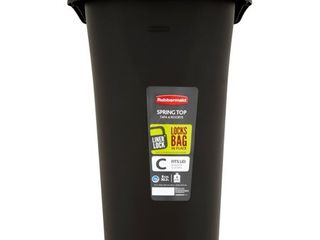 Rubbermaid liner lock Fits lid Spring Top 8 Gal Trash Can