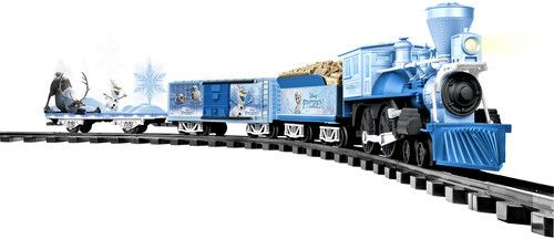 lionel Disney s Frozen Battery powered Model Train Set  Ready to Play with Remote
