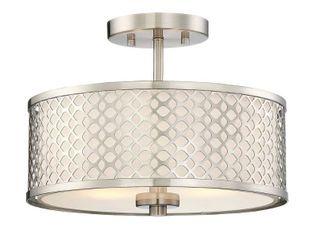 Strick   Bolton Melii 2 light Semi flush Mount Ceiling light  Retail 83 99