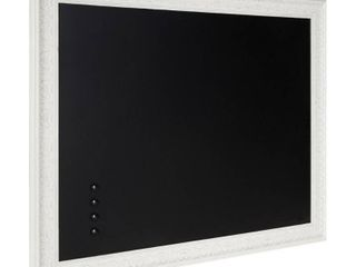 Kate and laurel Alysia Framed Magnetic Chalkboard   28 5x34 5  Retail 89 99