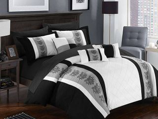 Chic Home Clayton 10 Pc King Comforter Set Bedding