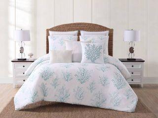 Oceanfront Resort Cove Seafoam Printed 2 Piece Twin Twin Xl Comforter Set Bedding