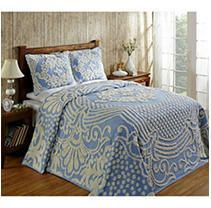Better Trends Florence Collection in Medallion Design 100  Cotton Tufted Chenille  Retail 89 22