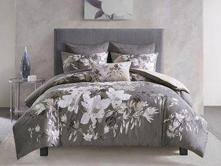Natori Odessa 3 Piece Comforter Set   Full Queen Bedding