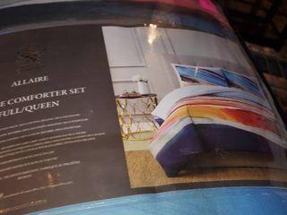 Vince Camuto Allaire 3 Piece Comforter Set  Full Queen Bedding
