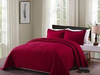 Porch   Den Heightsview Prewashed lightweight 3 piece Quilted Bedspread Set