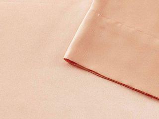 Madison Park Essentials Satin 6 Pc  King Sheet Set Bedding