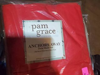 Solid Red Sheet Set Size   Twin