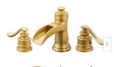 Widespread Bathroom Faucet with Pop Up Drain  Retail 138 49