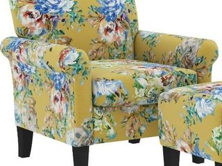 Copper Grove Chanden Arm Chair and Ottoman