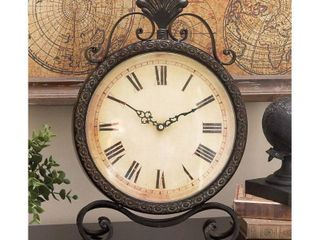 Deco 79 Metal Clock  17 by 11 Inch