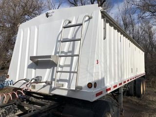 Neville grain trailer