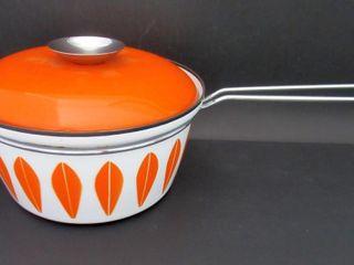 Catherineholm of Norway Orange IJlotusIJ Sauce Pot