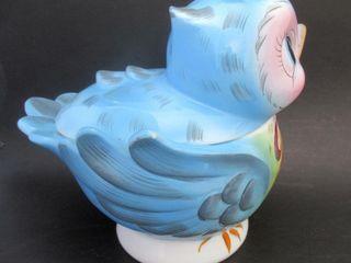 lefton   ESD Canada Bluebird Cookie Jar