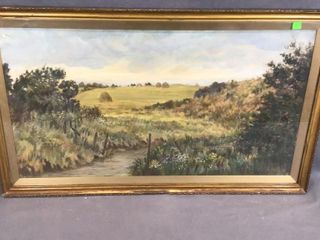 Meadow Scene Picture