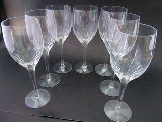 7 Orrefors Sweden IJPreludeIJ White Wine   Claret Gl