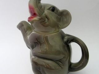 Erphila Germany Figural Elephant Teapot