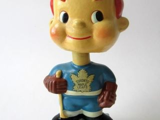 Early 1960s Toronto Maple leafs Bobble Head   Nodd