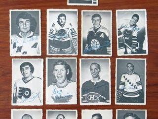 1970   1971 Hockey Card lot of 13
