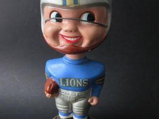 1960s Detroit lions Football Nodder   Bobblehead