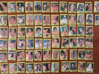 1986 Monty Gum WWF Wresting Cards