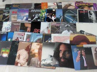 lot of 50 Rock   Mixed lP Albums