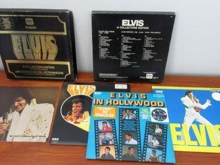 Elvis Box Set 5 lP Albums  1977