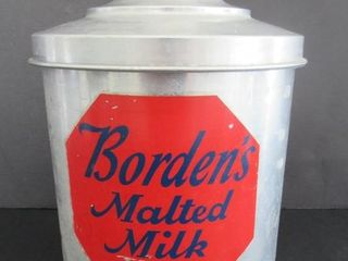 BordenIJs Malted Milk Soda Fountain Canister