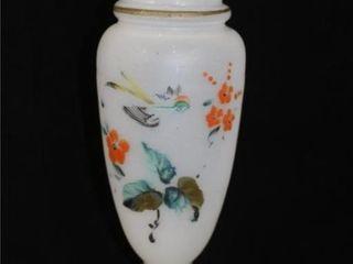White Blown Glass Vase