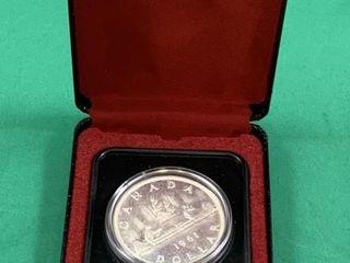 1961 Canadian Specimen Silver Dollar