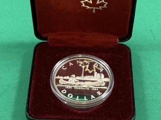 1984 Toronto Silver Dollar